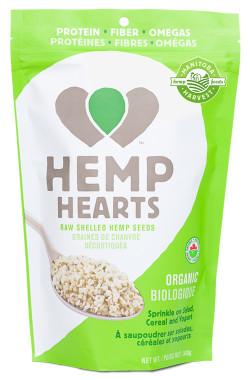 Manitoba Harvest Organic Hemp Hearts, 340 g | NutriFarm.ca