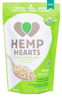 Manitoba Harvest Organic Hemp Hearts, 200 g   NutriFarm.ca