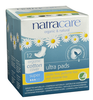 Natracare Ultra Pads with Wings Super, 12 pads | NutriFarm.ca
