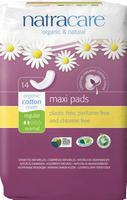 Natracare Natural Maxi Pad Regular, 14 pads | NutriFarm.ca