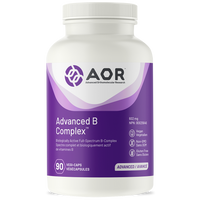 AOR Advanced B Complex, 90 Vegetable Capsules | NutriFarm.ca