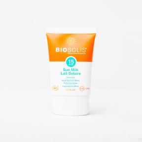 BIOSOLIS Sun Milk SPF15, 50 ml | NutriFarm.ca
