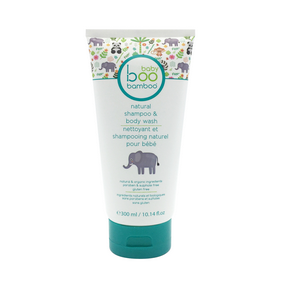 Boo Bamboo Baby Boo Natural Shampoo & Body Wash, 300 ml | NutriFarm.ca