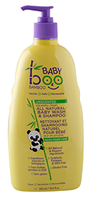 Boo Bamboo Squeaky Clean Baby Wash and Shampoo (Unscented), 550 ml | NutriFarm.ca