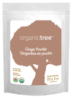 OrganicTree Organic Ginger Powder, 454 g | NutriFarm.ca
