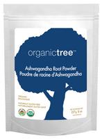 OrganicTree Organic Ashwagandha Root Powder, 227 g | NutriFarm.ca