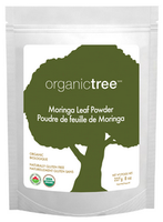 OrganicTree Organic Moringa Leaf Powder, 227 g | NutriFarm.ca