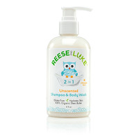 Reese and Luke Shea Butter Shampoo & Body Wash Unscented, 8 fl oz | NutriFarm.ca