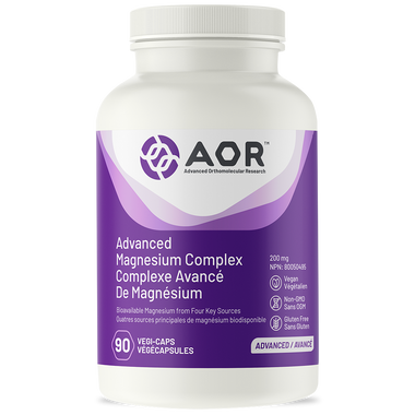 AOR Advanced Magnesium Complex, 90 Vegetable Capsules | NutriFarm.ca