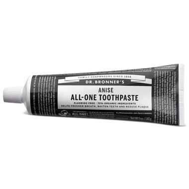 Dr. Bronner's Anise ALL-ONE Toothpaste, 140 g | NutriFarm.ca