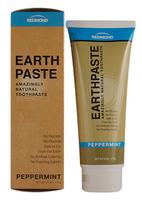 Redmond Earthpaste Peppermint, 113 g   NutriFarm.ca