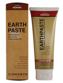 Redmond Earthpaste Cinnamon, 113 g   NutriFarm.ca