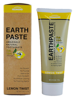 Redmond Earthpaste Lemon Twist for kids, 113 g | NutriFarm.ca