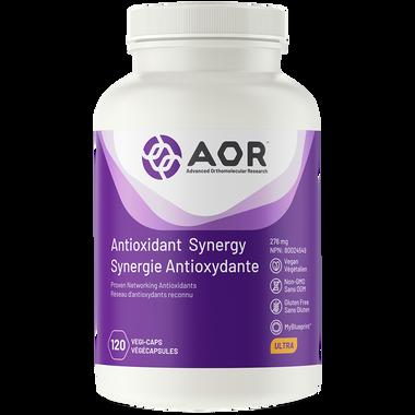 AOR Antioxidant Synergy, 120 Vegetable Capsules | NutriFarm.ca