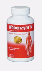 Wobenzym N, 200 tablets | NutriFarm.ca