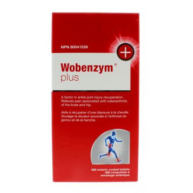 Wobenzym Plus, 480 entric-coated tablets | NutriFarm.ca