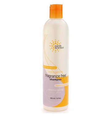 Earth Science Fragrance Free Shampoo, 355 ml | NutriFarm.ca