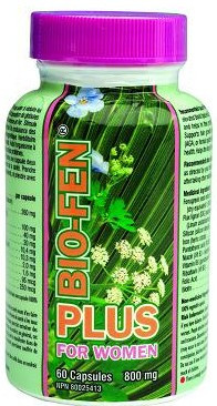 Biofen plus for women, 60 Capsules | NutriFarm.ca