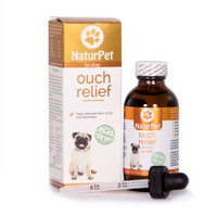 NaturPet Ouch Relief (Formerly Pain Relief), 100 ml | NutriFarm.ca