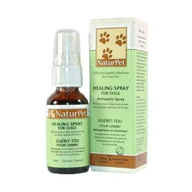 NaturPet Healing Spray for Dogs, 30 ml | NutriFarm.ca