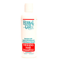 Herbal Glo Thinning Hair Shampoo, 250 ml | NutriFarm.ca