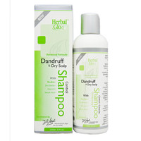 Herbal Glo Dandruff and Dry Scalp Shampoo, 250 ml | NutriFarm.ca