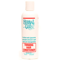 Herbal Glo Thinning Hair Conditioner, 250 ml | NutriFarm.ca