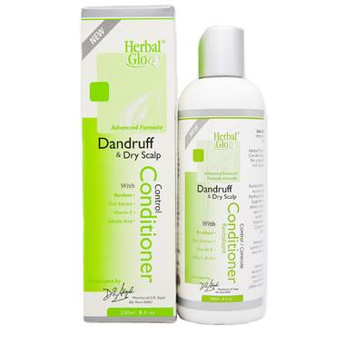 Herbal Glo Dandruff and Dry Scalp Conditioner, 250 ml | NutriFarm.ca