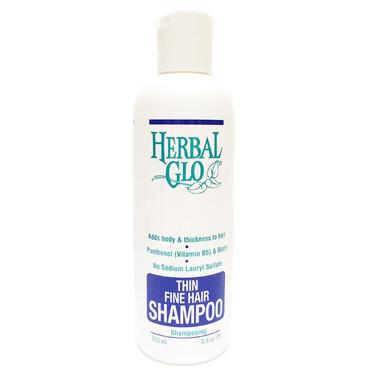 Herbal Glo Thin and Fine Hair Shampoo, 250 ml   NutriFarm.ca