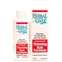 Herbal Glo Advanced Thinning Hair Formula, 175 ml | NutriFarm.ca
