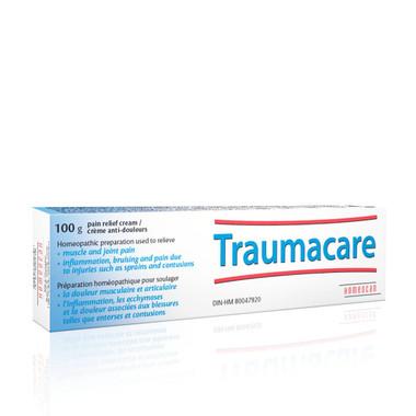 Homeocan Traumacare Pain Relief Cream, 100 g | NutriFarm.ca
