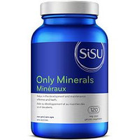 SISU Only Minerals, 120 Vegetable Caps | NutriFarm.ca