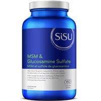 SISU MSM and Glucosamine Sulfate, 180 Capsules | NutriFarm.ca