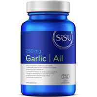 SISU Garlic 250mg, 120 Enteric Coated Tablets
