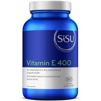 SISU Vitamin E 400IU, 180 Softgels | NutriFarm.ca