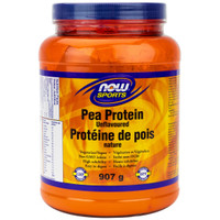 NOW Pea Protein Unflavoured , 907 g | NutriFarm.ca