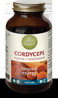Purica Cordyceps, 120 Veg Caps | NutriFarm.ca