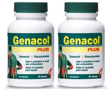 Genacol Plus, 2 * 90 Capsules | NutriFarm.ca
