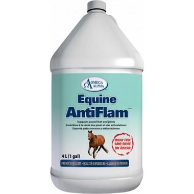 Omega Alpha Equine AntiFlam, 4 L   NutriFarm.ca