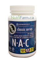 AOR NAC, 120 + 40 Free Veg Capsules | NutriFarm.ca