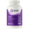 AOR Gaba, 60 Vegetable Capsules | NutriFarm.ca