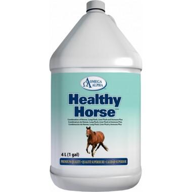 Omega Alpha Healthy Horse, 4 L | NutriFarm.ca