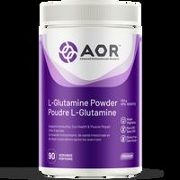 AOR L-Glutamine Powder, 454 g | NutriFarm.ca