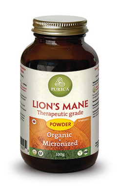 Purica Lion's Mane Powder, 100 g   NutriFarm.ca