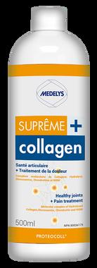 Medelys Supreme Collagen Plus, 500 ml | NutriFarm.ca