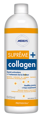 Medelys Supreme Collagen Plus, 500 ml | NutriFarm.ca