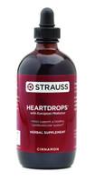 Strauss Naturals Heartdrops Cinnamon, 225 ml | NutriFarm.ca