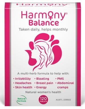 Martin Pleasance Harmony Balance (PMS), 120 tablets | NutriFarm.ca