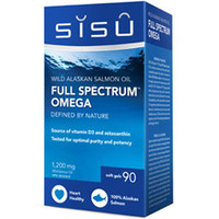 SISU Full Spectrum Omega, 90 Softgels   NutriFarm.ca