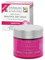 Andalou Naturals 1000 Roses Beautiful Day Cream, 50 ml | NutriFarm.ca